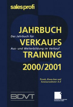 Jahrbuch Verkaufstraining 2000/2001