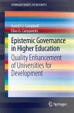 Epistemic Governance in Higher Education (eBook, PDF)