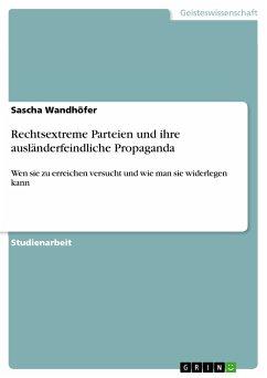 Rechtsextreme Parteien und ihre ausländerfeindliche Propaganda (eBook, PDF)