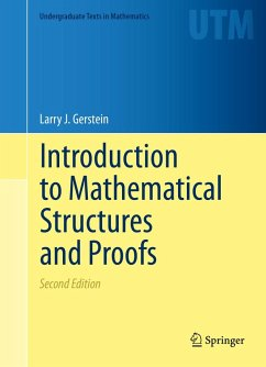 Introduction to Mathematical Structures and Proofs (eBook, PDF) - Gerstein, Larry J.