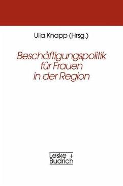 Beschäftigungspolitik für Frauen in der Region