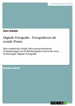 Digitale Fotografie - Fotografieren als soziale Praxis (eBook, PDF)