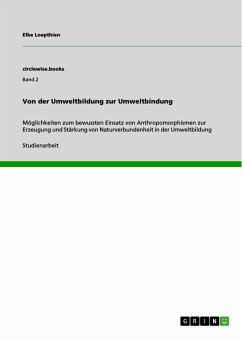 Von der Umweltbildung zur Umweltbindung (eBook, PDF)