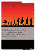 Theorie der psychosozialen Entwicklung nach Erik H. Erikson (eBook, PDF)