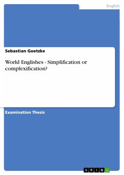 World Englishes - Simplification or complexification? (eBook, PDF)