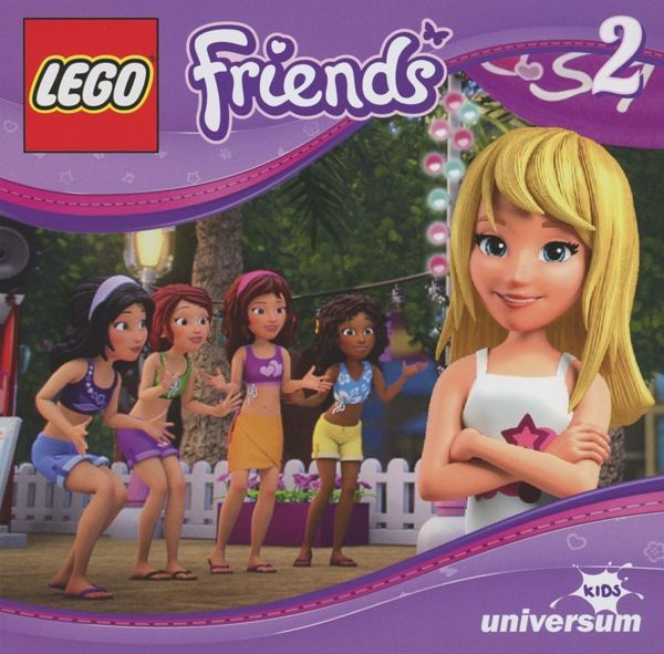 Die Überraschungsparty LEGO Friends Bd.2 Audio-CD