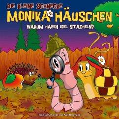 Warum haben Igel Stacheln?, 1 Audio-CD / Die kleine Schnecke, Monika Häuschen, Audio-CDs Tl.33