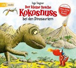 Der kleine Drache Kokosnuss bei den Dinosauriern / Die Abenteuer des kleinen Drachen Kokosnuss Bd.20 (1 Audio-CD) - Siegner, Ingo