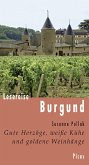 Lesereise Burgund (eBook, ePUB)