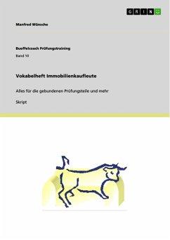 Vokabelheft Immobilienkaufleute (eBook, ePUB)