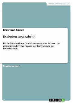 Exklusion trotz Arbeit? (eBook, PDF)