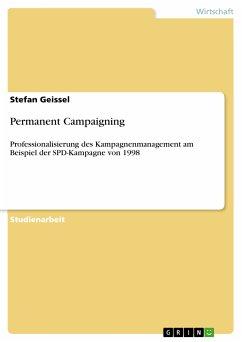Permanent Campaigning (eBook, PDF)