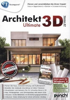 architekt 3d x7 ultimate pc software. Black Bedroom Furniture Sets. Home Design Ideas