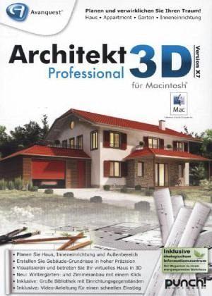 architekt 3d x7 professional mac mac software. Black Bedroom Furniture Sets. Home Design Ideas