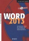 Word 2013 Basis Buch