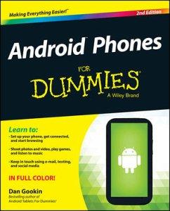 Android Phones for Dummies - Gookin, Dan; Geisler, Sandra