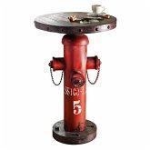 Beistelltisch Fireplug Rot/Braun