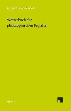 Wörterbuch der philosophischen Begriffe (eBook, PDF)