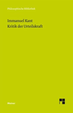 Kritik der Urteilskraft (eBook, PDF) - Kant, Immanuel