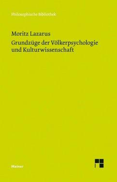 Grundzüge der Völkerpsychologie und Kulturwissenschaft (eBook, PDF) - Lazarus, Moritz