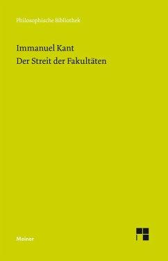 Der Streit der Fakultäten (eBook, PDF) - Kant, Immanuel