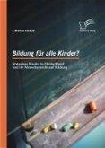 Bildung für alle Kinder? Statuslose Kinder in Deutschland und ihr Menschenrecht auf Bildung (eBook, PDF)
