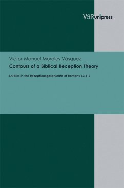 Contours of a Biblical Reception Theory (eBook, PDF) - Vásquez, Víctor Manuel Morales