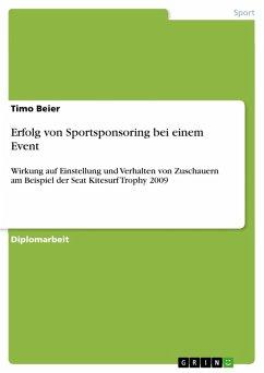 Erfolg von Sportsponsoring bei einem Event (eBook, PDF)