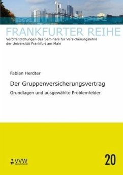Der Gruppenversicherungsvertrag (eBook, PDF) - Herdter, Fabian