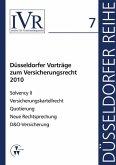 Düsseldorfer Vorträge zum Versicherungsrecht 2010 (eBook, PDF)