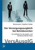 Der Versorgungsausgleich bei Betriebsrenten (eBook, PDF)