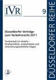 Düsseldorfer Vorträge zum Verkehrsrecht 2011 (eBook, PDF)