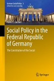 Social Policy in the Federal Republic of Germany (eBook, PDF)