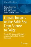 Climate Impacts on the Baltic Sea: From Science to Policy (eBook, PDF)