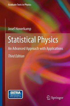Statistical Physics (eBook, PDF) - Honerkamp, Josef