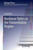 Nonlinear Optics in the Filamentation Regime (eBook, PDF)