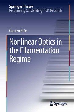 Nonlinear Optics in the Filamentation Regime (eBook, PDF) - Brée, Carsten
