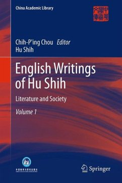 English Writings of Hu Shih (eBook, PDF) - Shih, Hu