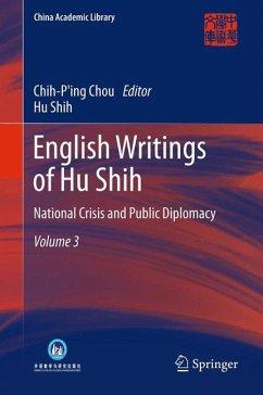 English Writings of Hu Shih (eBook, PDF) - Shih, Hu