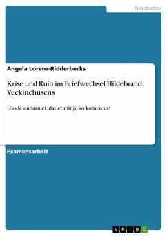 Krise und Ruin im Briefwechsel Hildebrand Veckinchusens (eBook, PDF)
