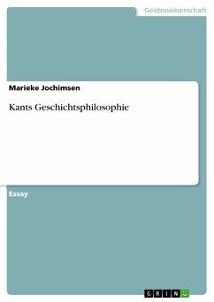 Kants Geschichtsphilosophie (eBook, ePUB)