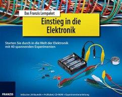 Das Franzis Lernpaket Einstieg in die Elektronik, 1 CD-ROM + 20 Bauteile + Prüfkabel + Experimentieranleitung