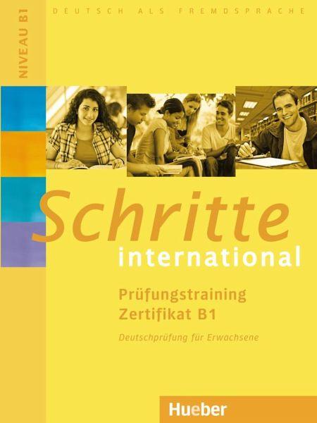 Schritte International Prüfungstraining Zertifikat B1 Von Frauke