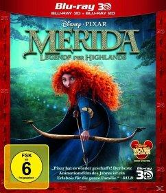 Merida - Legende der Highlands 3D-Superset, 1 Blu-ray