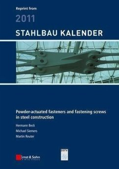 Powder-actuated fasteners and fastening screws in steel construction (eBook, ePUB) - Beck, Hermann; Siemers, Michael; Reuter, Martin
