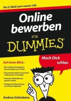 Online bewerben für Dummies (eBook, ePUB)