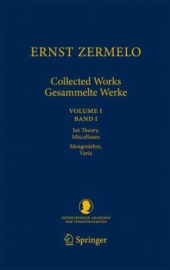 Ernst Zermelo - Collected Works/Gesammelte Werke (eBook, PDF) - Zermelo, Ernst