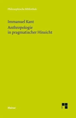 Anthropologie in pragmatischer Hinsicht (eBook, PDF) - Kant, Immanuel