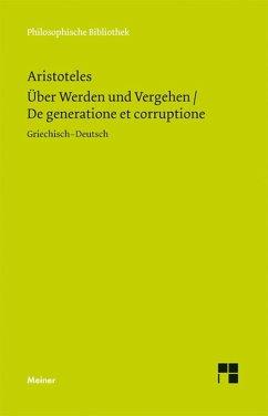 Über Werden und Vergehen (eBook, PDF) - Aristoteles