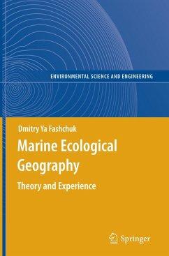 Marine Ecological Geography - Fashchuk, Dmitry Ya
